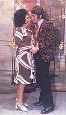 Virginia Da Brescia e Rino Gioielli in una foto di scena