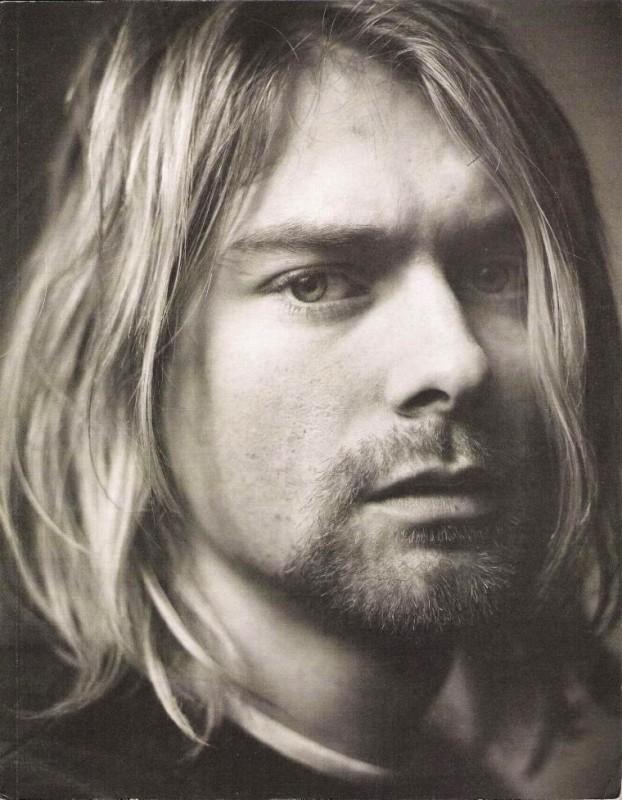Una foto di Kurt Cobain