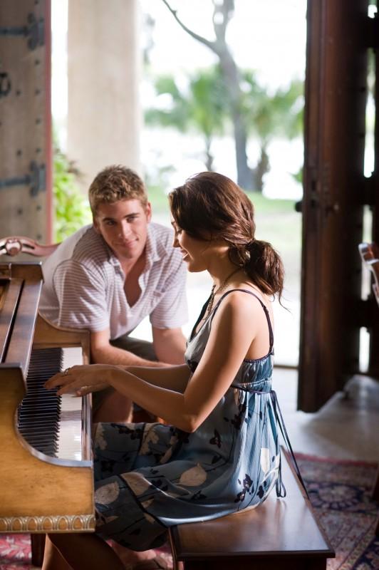 Miley Cyrus e Liam Hemsworth insieme nel film The Last Song