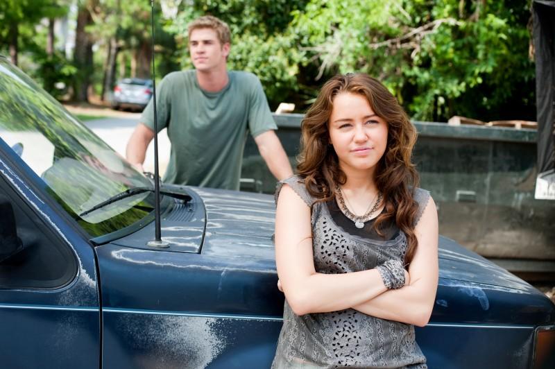 Miley Cyrus e Liam Hemsworth, protagonisti del film The Last Song