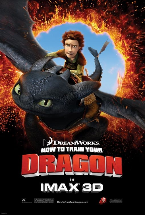 Nuovo poster USA per How to Train Your Dragon