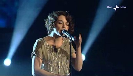 Sanremo 2010, terza serata: Carmen Consoli