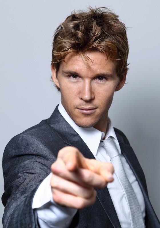 Il bel Ryan Kwanten in una foto promozionale