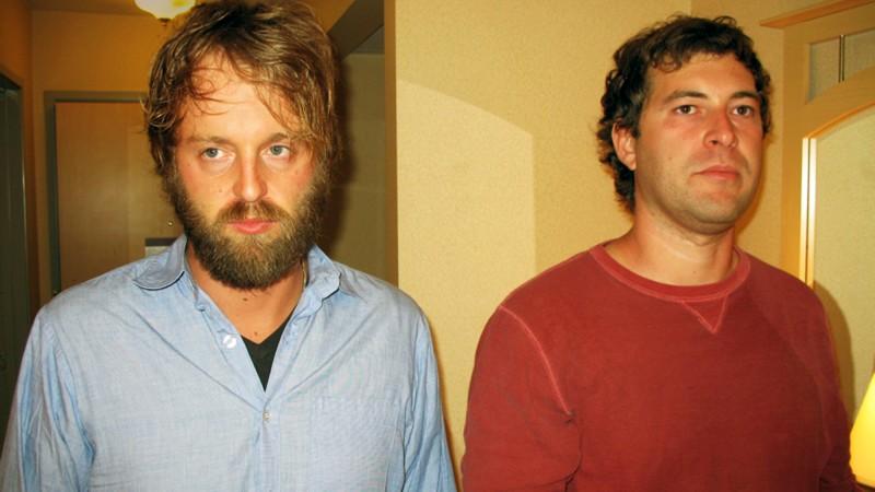 Joshua Leonard e Mark Duplass in un'immagine tratta da Humpday