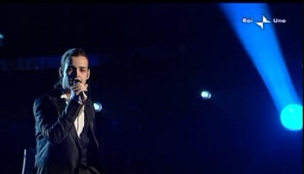 Sanremo 2010: Valerio Scanu è uno dei finalisti del Festival