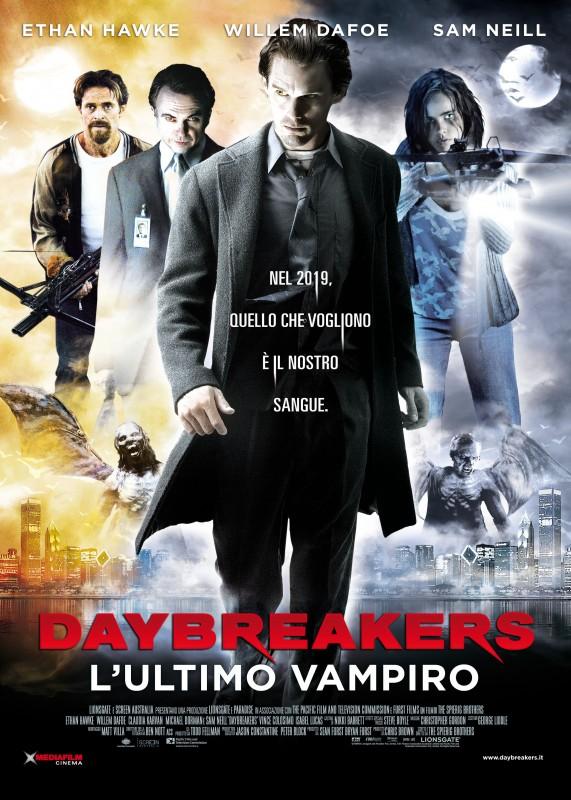 Locandina italiana per il film Daybreakers - L'ultimo vampiro