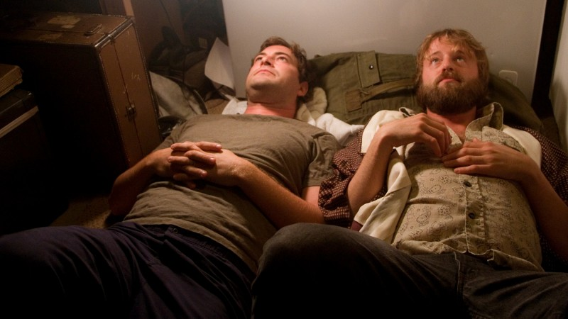 Mark Duplass e Joshua Leonard in una scena del film Humpday