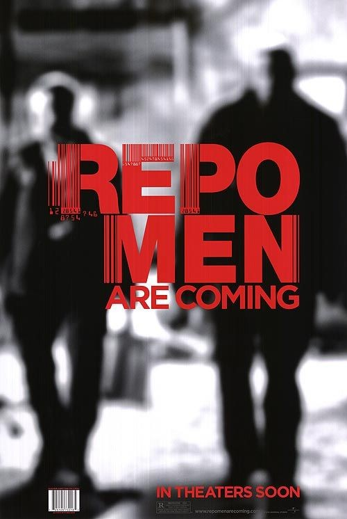 Repo Men - Nuovo poster USA