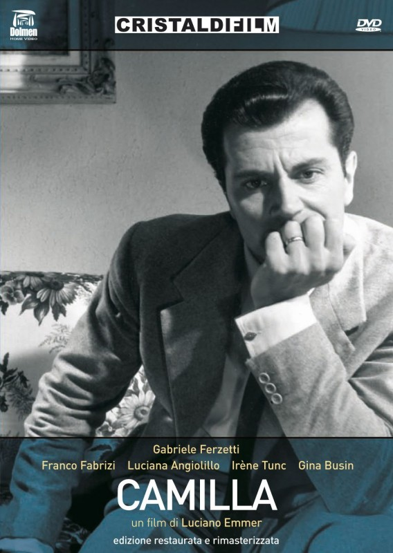La copertina di Camilla (dvd)