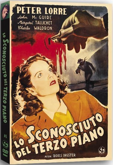 La copertina di Lo sconosciuto del terzo piano (dvd)
