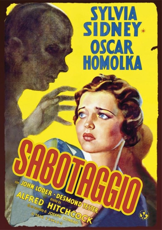 La copertina di Sabotaggio (dvd)