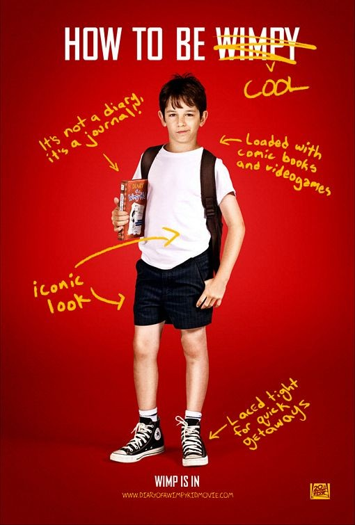 Character Poster 1 per  Diary of a Wimpy Kid