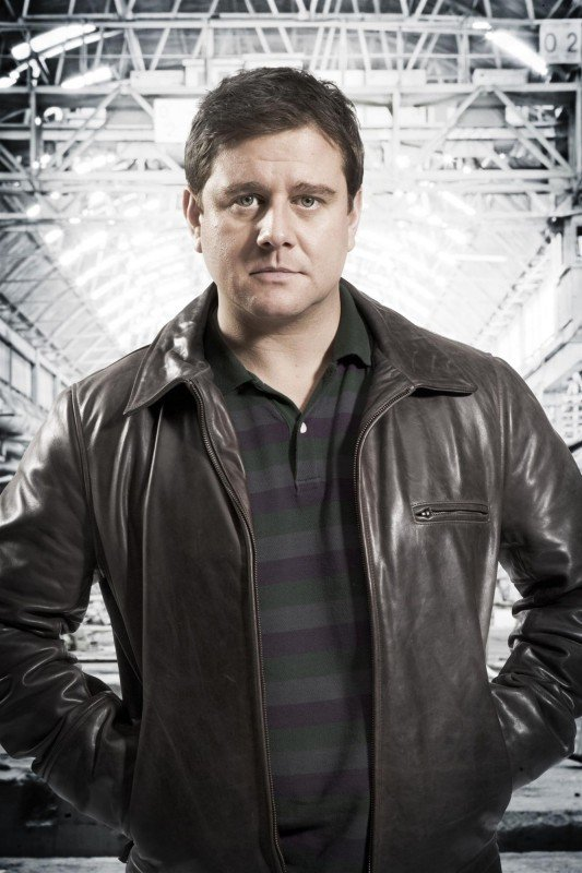 Kai Owen in una foto promozionale di Torchwood: Children of Earth