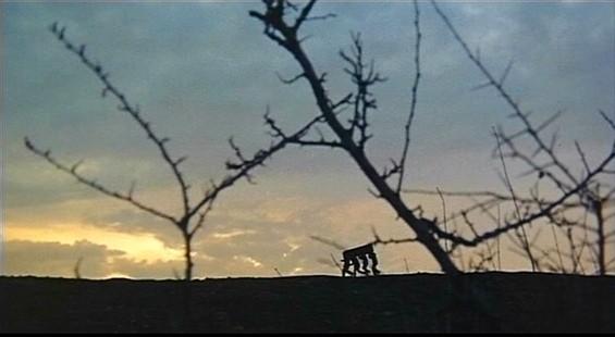 Una scena del film Operazione paura ( 1966 )
