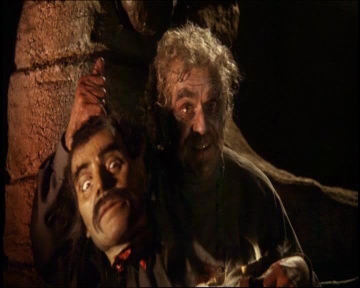 Boris Karloff in una scena dell\'episodio I Wurdalak del film I tre volti della paura