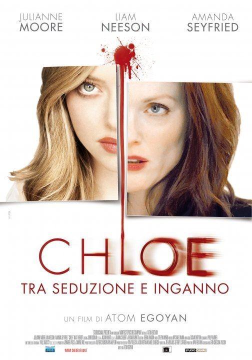 La locandina italiana di Chloe