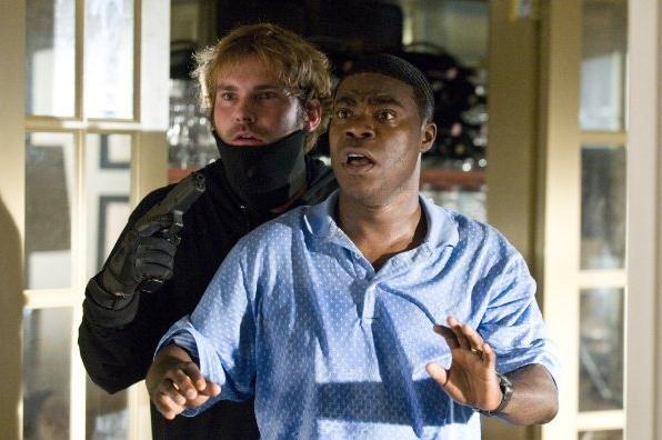 Tracy Morgan e Seann William Scott in una divertente scena di Cop Out