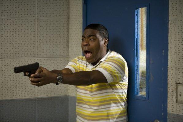 Tracy Morgan in una scena della commedia Cop Out