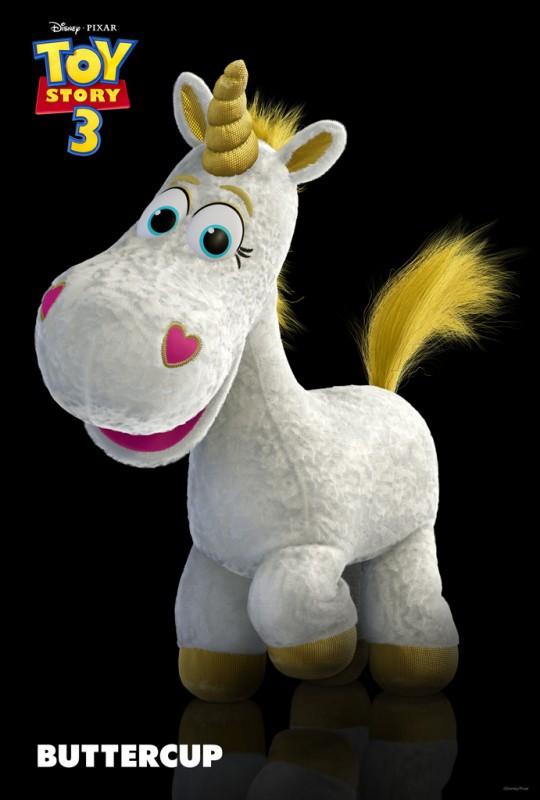 Un'immagine di Cono di Panna, uno degli ultimi personaggi arrivati nel film Toy Story 3