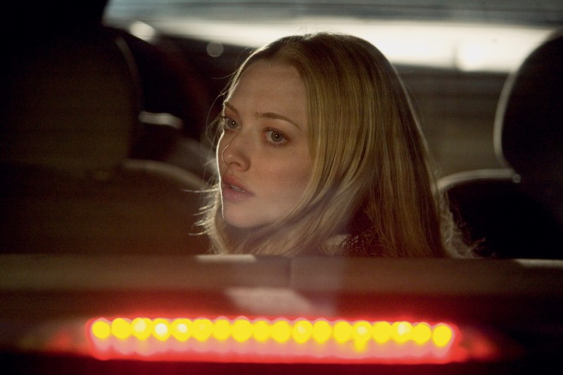 Amanda Seyfried in una scena del film Chloe