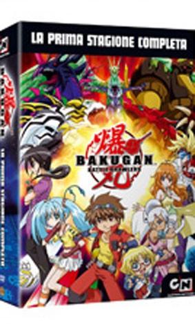 La copertina di Bakugan - La prima stagione completa (dvd)