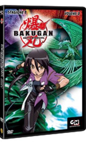 La copertina di Bakugan - Stagione 1 vol. 3 (dvd)