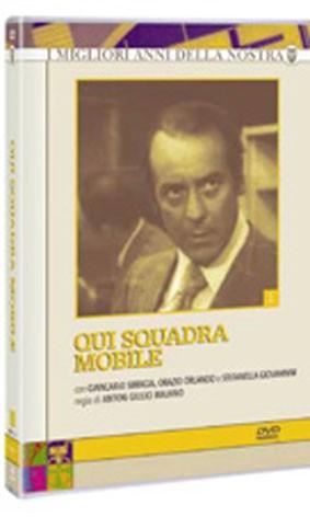 La copertina di Qui squadra mobile - Serie 1 (dvd)
