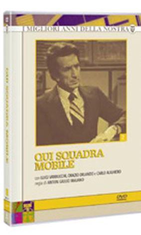 La copertina di Qui squadra mobile - Serie 2 (dvd)
