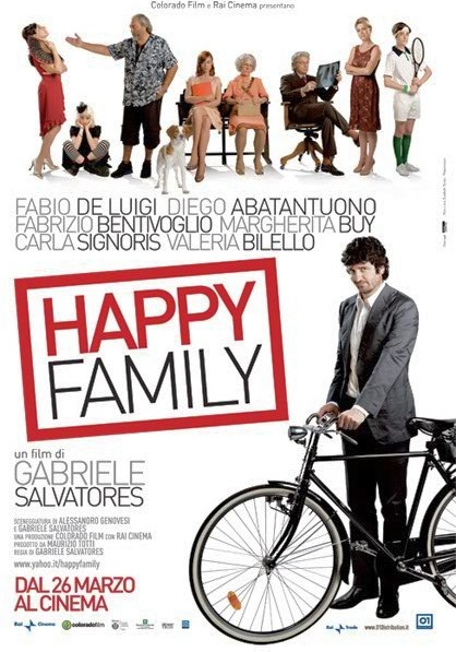 La locandina di Happy Family