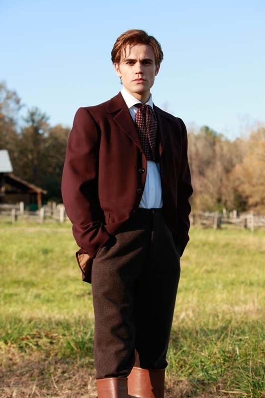 Paul Wesley in una foto promo dell'episodio Children of the Damned di Vampire Diaries