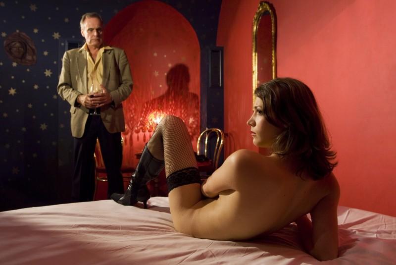 Toni Slama e Irina Potapenko in un'immagine del film Revanche