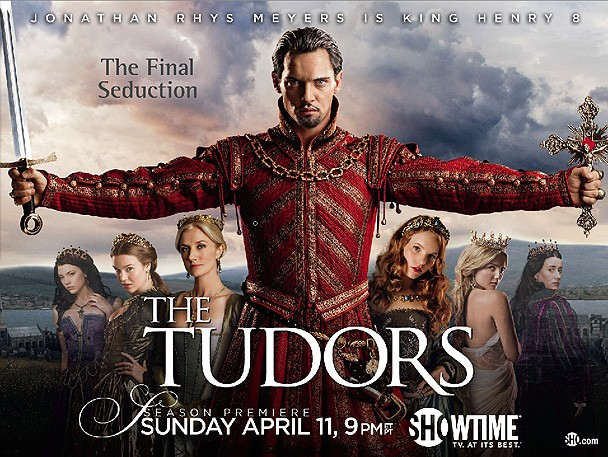 Un poster per la stagione 4 de I Tudors