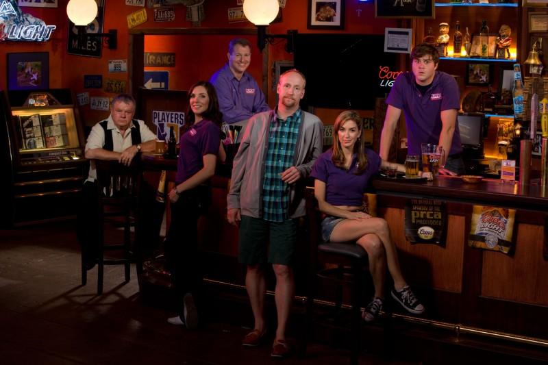 Una foto promozionale del cast di Players