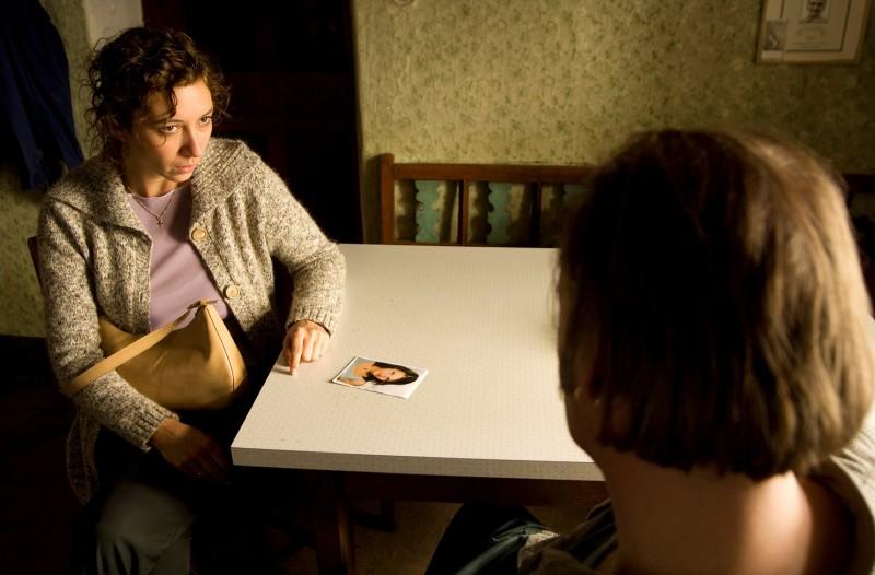 Ursula Strauss e Johannes Krisch in una scena del film Revanche