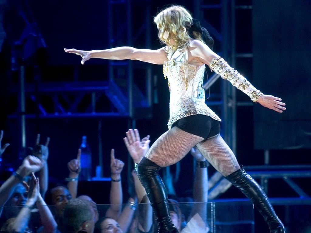 Wallpaper: Madonna durante il suo Re-Invention World Tour