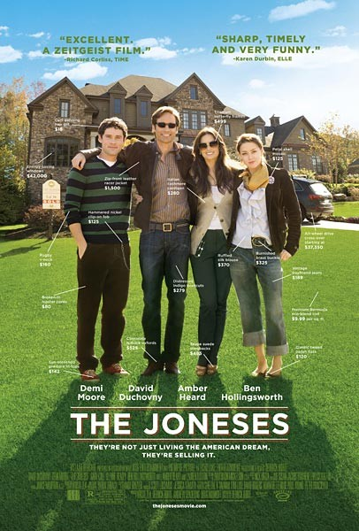 La locandina di The Joneses