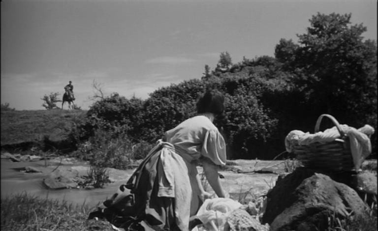 Germana Dominici in una scena del film La maschera del demonio ( 1960 )