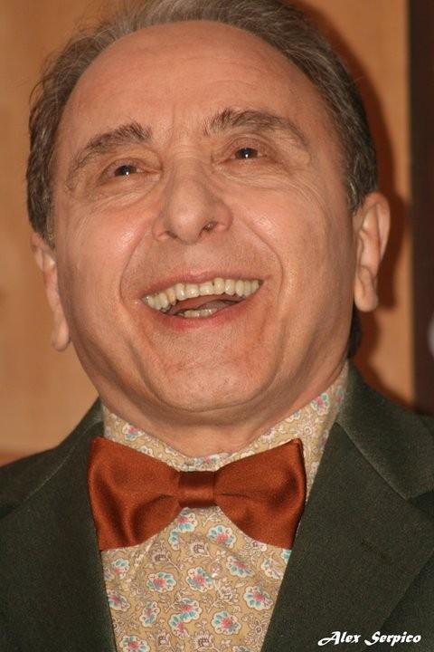 Ernesto Mahieux sul set di Quando si diventa grandi.