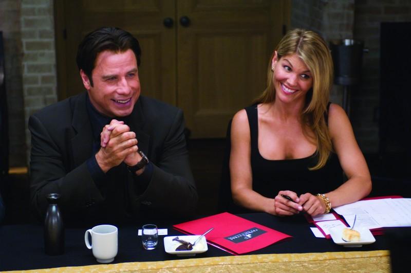John Travolta e Lori Loughlin in una scena di Old Dogs