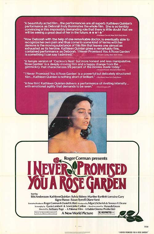 Locandina del film I Never Promised You a Rose Garden (1977)