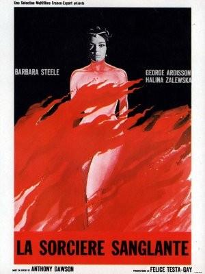 Locandina francese del film I lunghi capelli della morte ( 1964 )