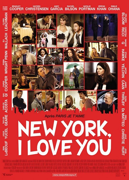 Nuovo poster francese per New York, I Love You