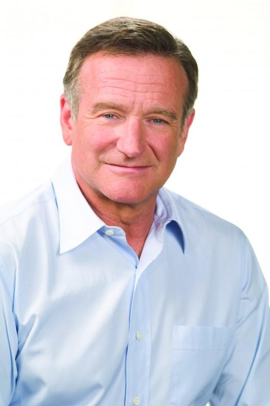 Robin Williams sul set della commedia Daddy Sitter
