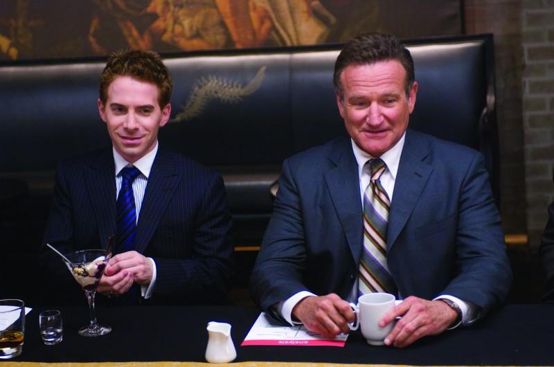 Seth Green e Robin Williams in una scena di Daddy Sitter