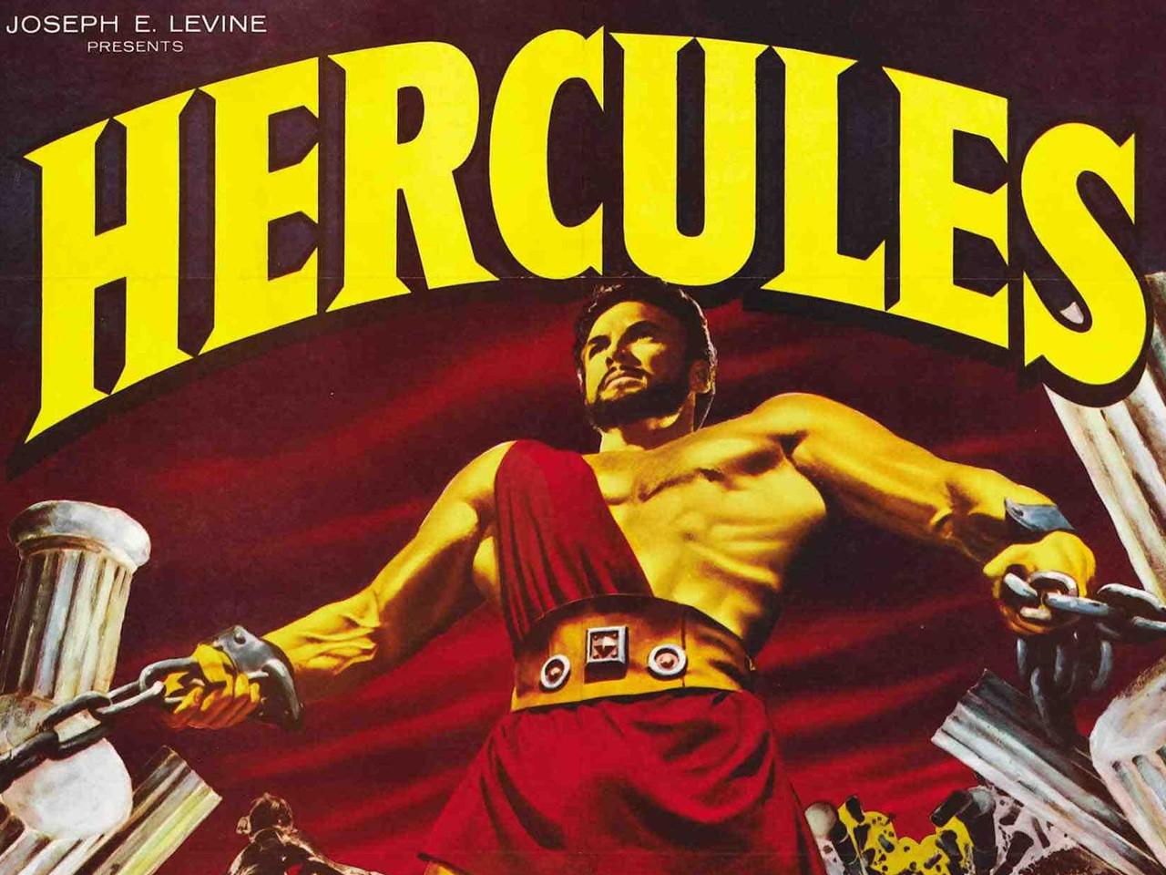 Un wallpaper de Le fatiche di Ercole, con Steve Reeves