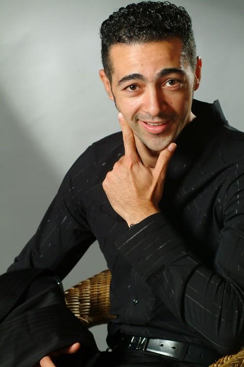 Una immagine dell'attore Anis Gharbi