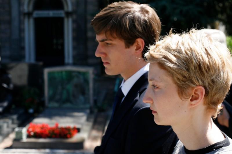 Alba Rohrwacher e Mattia Zaccaro in una scena del film Io sono l'amore