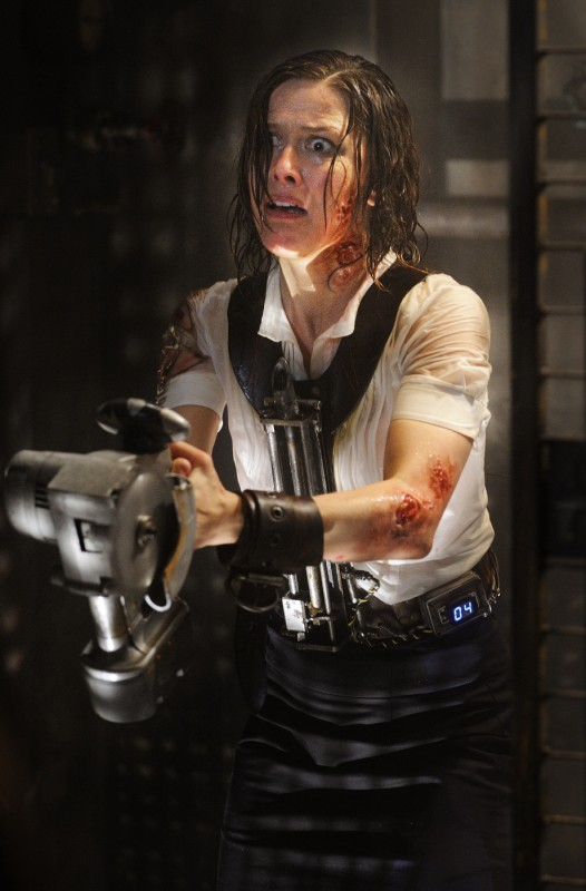 Melanie Scrofano in un'immagine del film Saw VI