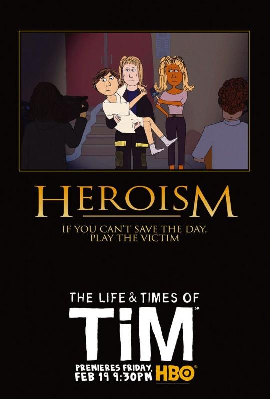 Uno dei poster della stagione 2 di The Life & Times of Tim
