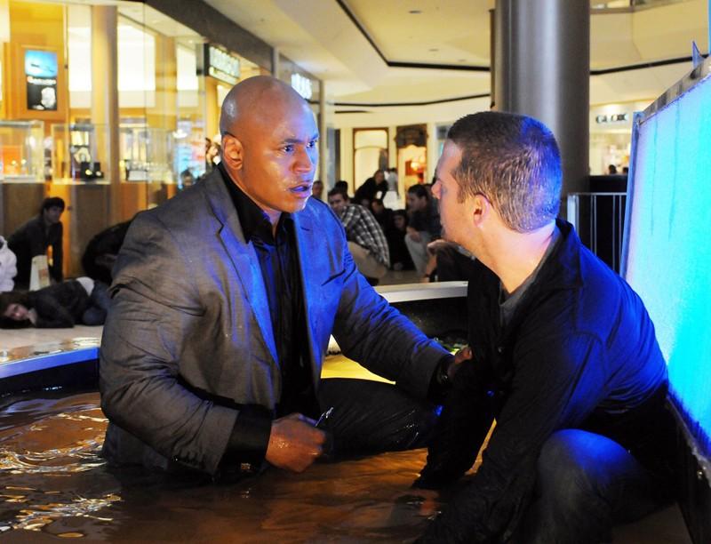 Chris O'Donnell e LL Cool J in missione nell'episodio LD50 di NCIS: Los Angeles